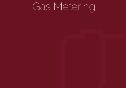 Data transmission and gas metering